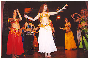 """Студия восточного танца """"Джунейна"""". Концерт, ноябрь 2003"""