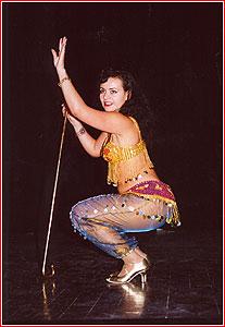 """Надия. Студия восточного танца """"Джунейна"""". Концерт, ноябрь 2003"""