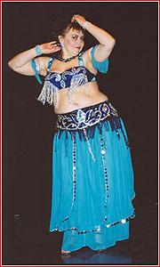 """Надин. Студия восточного танца """"Джунейна"""". Концерт, ноябрь 2003"""