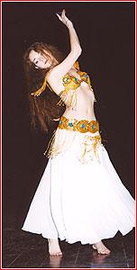 """Светлана. Студия восточного танца """"Джунейна"""". Концерт, ноябрь 2003"""