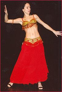 """Алла. Студия восточного танца """"Джунейна"""". Концерт, январь 2004"""