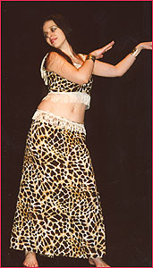 """Студия восточного танца """"Джунейна"""". Концерт, январь 2004"""