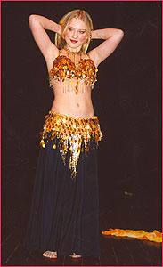 """Надежда. Студия восточного танца """"Джунейна"""". Концерт, январь 2004"""