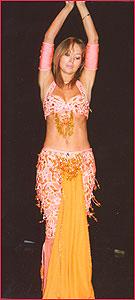 """Наталья. Студия восточного танца """"Джунейна"""". Концерт, январь 2004"""