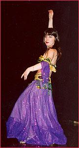 """Ольга. Студия восточного танца """"Джунейна"""". Концерт, январь 2004"""