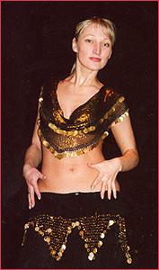 """Юлия. Студия восточного танца """"Джунейна"""". Концерт, январь 2004"""